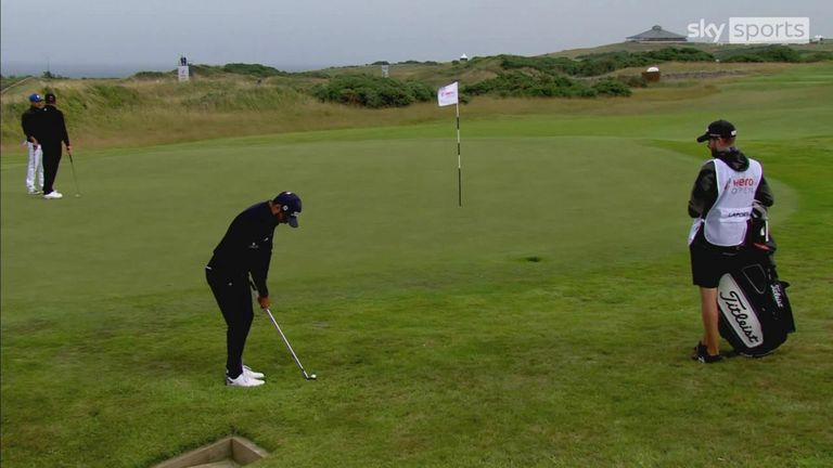 A look back at the best of the action from the opening round of the European Tour's Hero Open at Fairmont St Andrews.