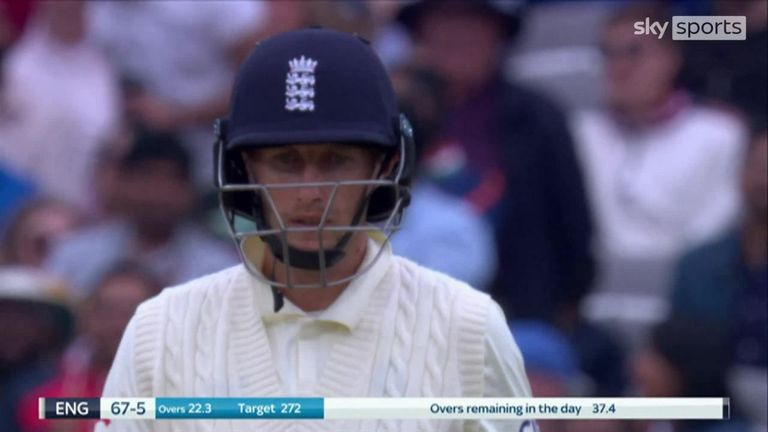Root fell for 33 to the third ball after the tea interval as England slipped to defeat in the second Test