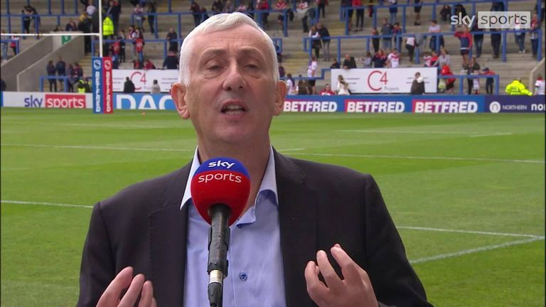 Speaker of the House of Commons Sir Lindsay Hoyle speaks about his love for Rugby League and Warrington Wolves and how he wants to see the sport grow and flourish more in the UK