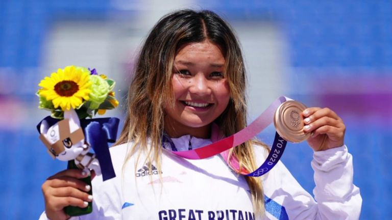 Skateboard GB chief executive James Hope-Gill believes Sky Brown's success will be an inspiration to people all over the country