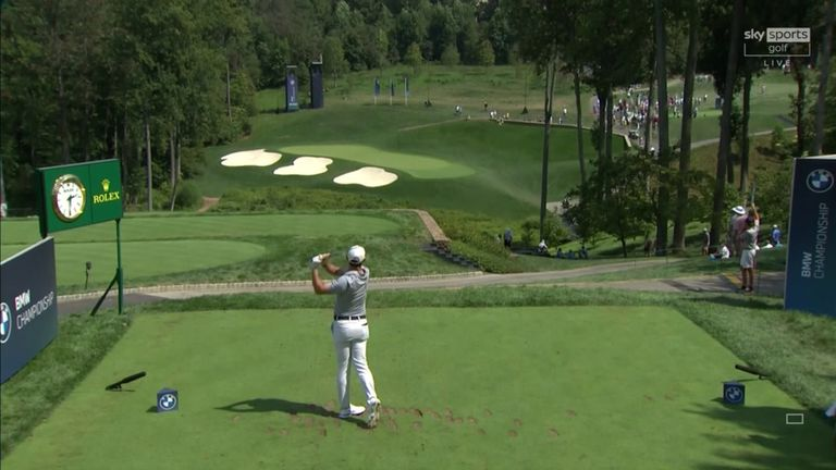 A look back at the key shots from Rory McIlroy's opening-round 64 at the BMW Championship, where the Northern Irishman grabbed a share of the early lead.