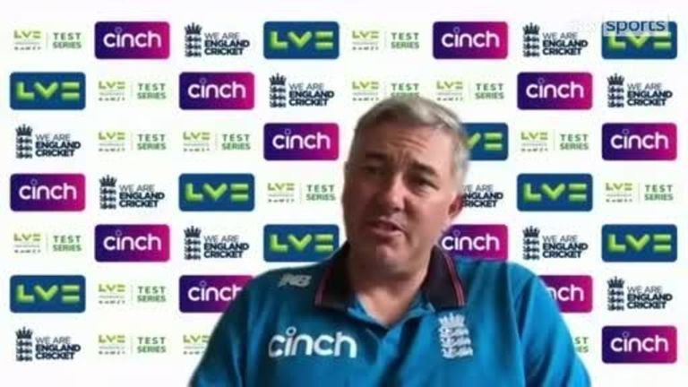 Chris Silverwood discusses his relationship with Joe Root and the England captain's superb form