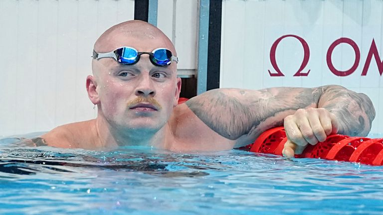 Adam Peaty will spend a month away from the pool to prioritise his mental health