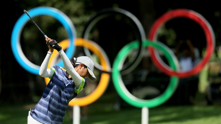 Aditi Ashok finished 41st on her Olympic debut as an 18-year-old in Rio five years ago after being in contention at halfway