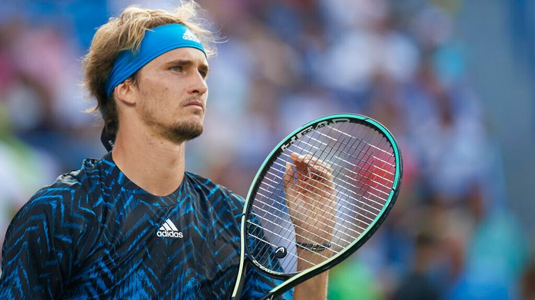 Alexander Zverev is being investigated by the ATP over domestic abuse allegations