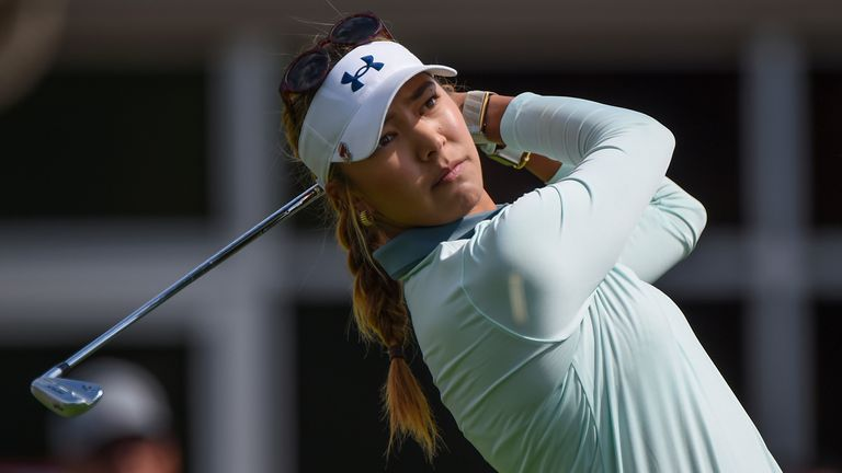 Alison Lee is firmly on course for victory in Spain