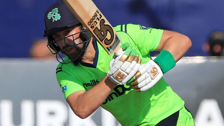 Andrew Balbirnie's Ireland begin their World Cup campaign against Netherlands on October 18