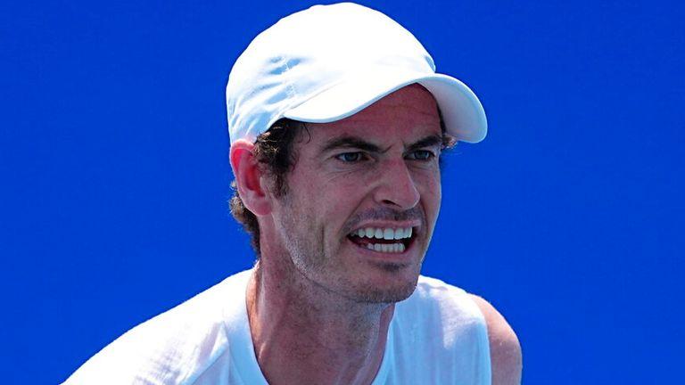 Andy Murray berharap sehat dan bugar sebelum AS Terbuka