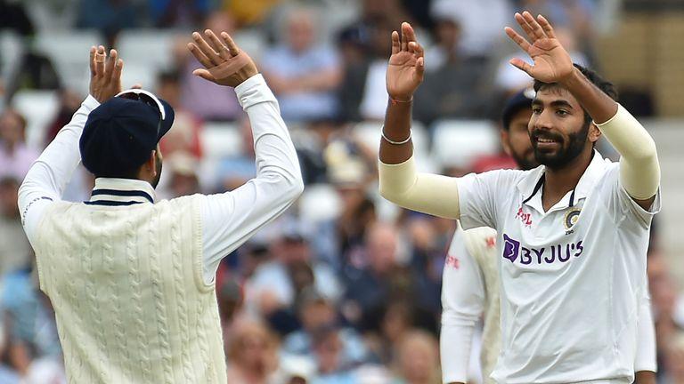 Jasprit Bumrah impressed in taking 4-46 for India in Nottingham