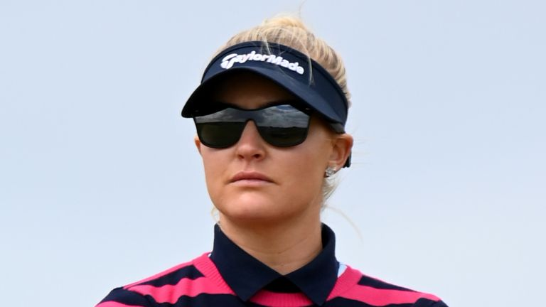 Charley Hull mixed four birdies with a lone bogey during her second round