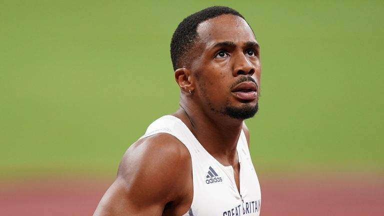 CJ Ujah has responded after being provisionally suspended for an alleged anti-doping breach