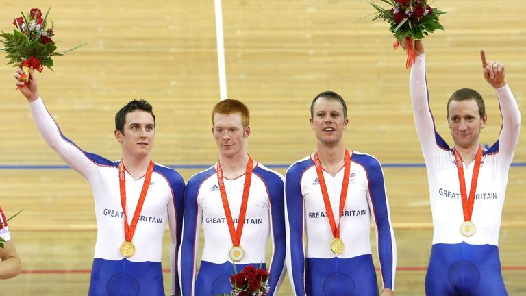 Clancy claimed his first gold back at the 2008 Beijing Games