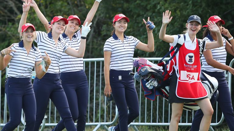 Team USA have only been defeated twice this century at the Curtis Cup