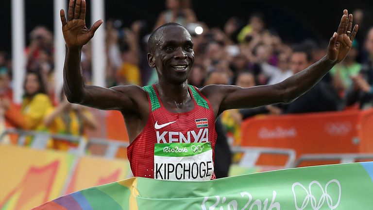Kipchoge is hungry for another Olympic gold medal