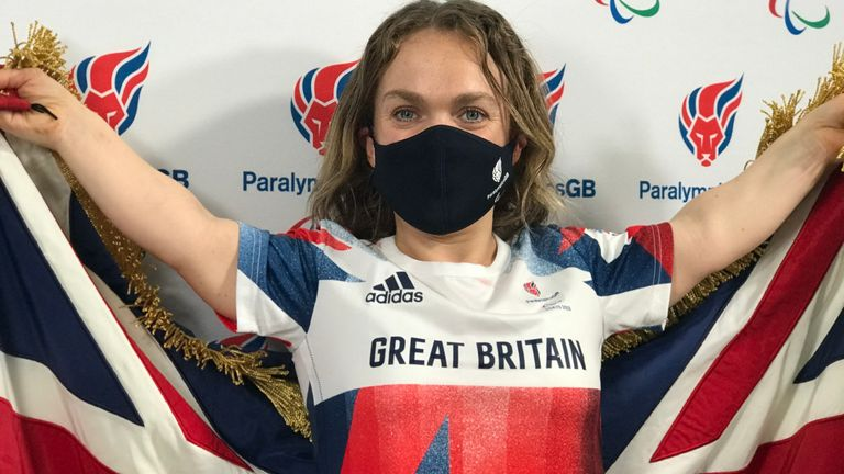 Simmonds has amassed eight medals across four events at three Games