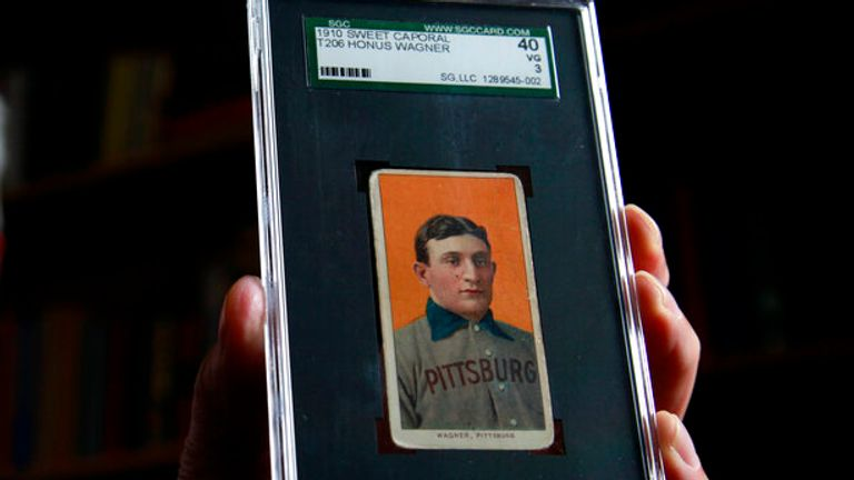 A 1909 Honus Wagner baseball card is considered the holy grail of cards, given how few are known to exist