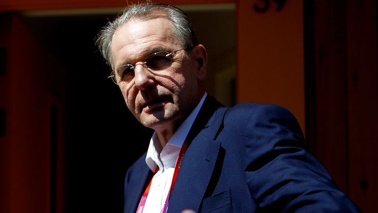 Jacques Rogge, who has died aged 79, was International Olympic Committee president for 12 years