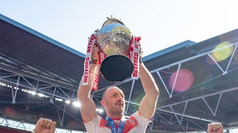St Helens captain James Roby said it was an easy decision to sign a contract extension with the Champions, but said that his 19th season will likely be his last