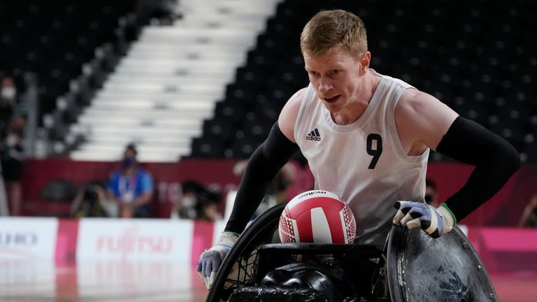 Jim Roberts scored 24 tries for ParalympicsGB in the final