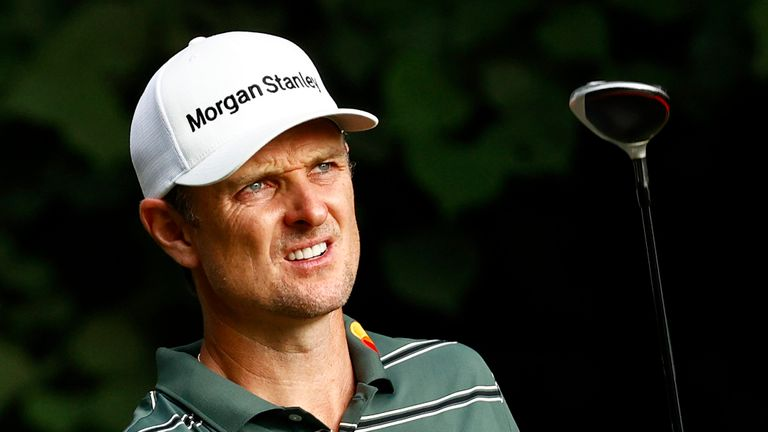 Justin Rose's top-10 finish was his first on the PGA Tour, outside of the majors, this season