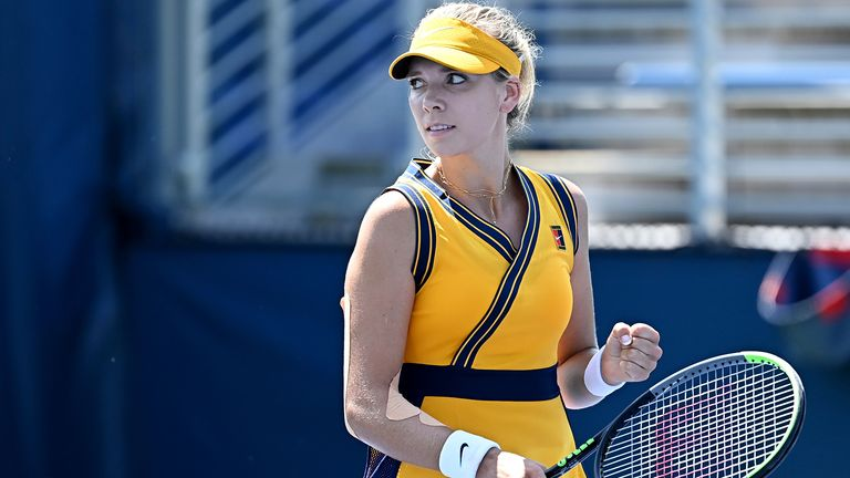 Katie Boulter joined Raducanu in reaching the main draw of the US Open