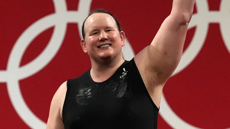 Hubbard thanked the IOC for allowing her to compete and 'establishing that sport is something for all people, that it is inclusive and is accessible'