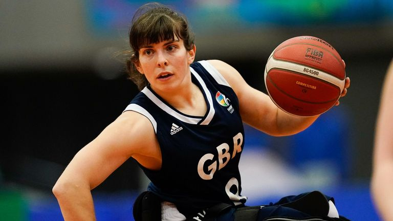Williams made her GB debut back in 2009 and Tokyo will be her third Paralympics (image: SportsPressJP/Alamy)