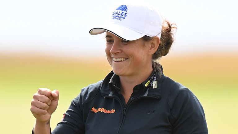 LPGA Tour: Michelle Thomson opens up two-shot lead on home soil at Women's Scottish Open |  Golf News