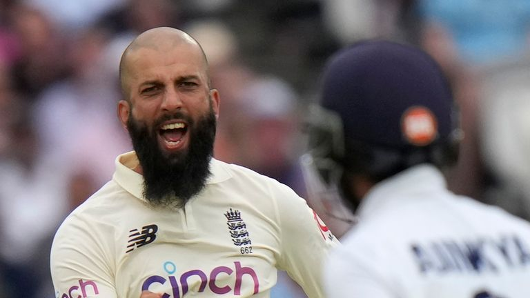 Moeen Ali will be Joe Root's second-in-command in the fourth round against India