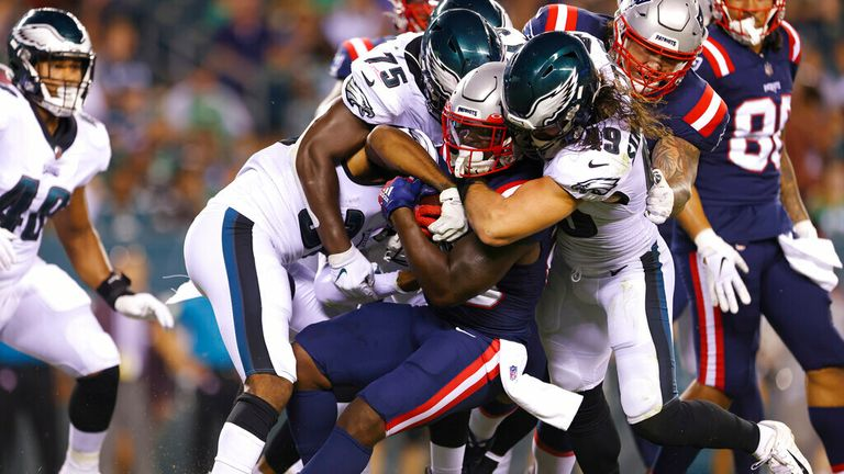 Watch highlights as New England crushed Philadelphia in the preseason
