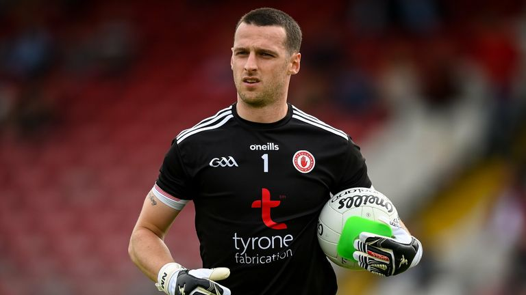 Niall Morgan continues to test the limits of the goalkeeper role in Gaelic football