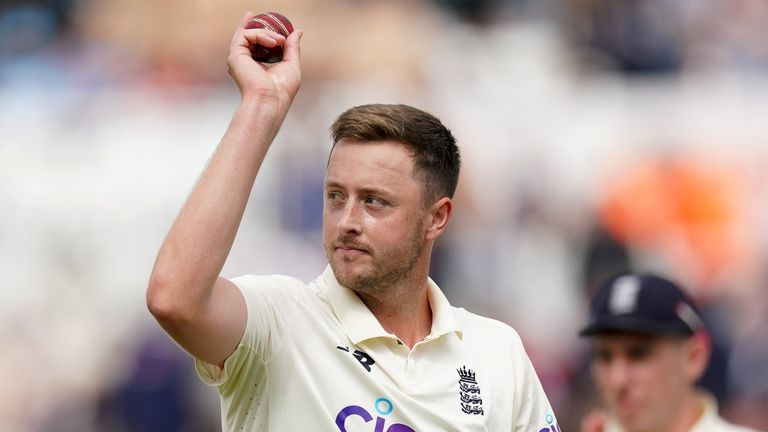 Ollie Robinson claimed a deserved five-wicket haul but India end day three in control at Trent Bridge