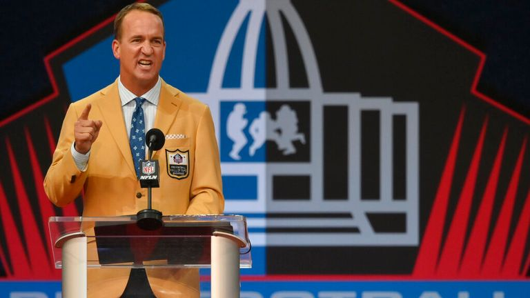Peyton Manning teased Brady in his Hall of Fame speech
