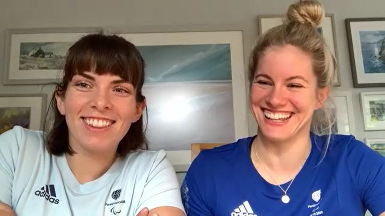 Williams and Love are hoping the wheelchair basketball tournament in Tokyo grabs the imagination of viewers back home