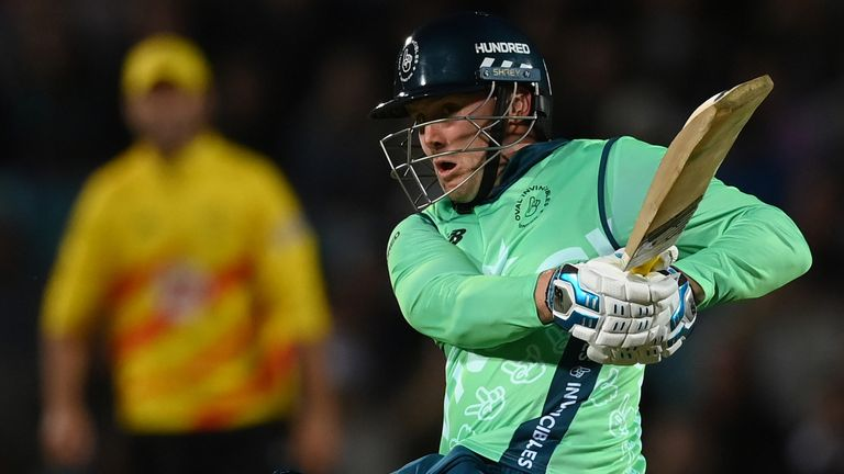 Roy's second half-century of the campaign inspired the Invincibles to a thrilling victory over league leaders Trent Rockets