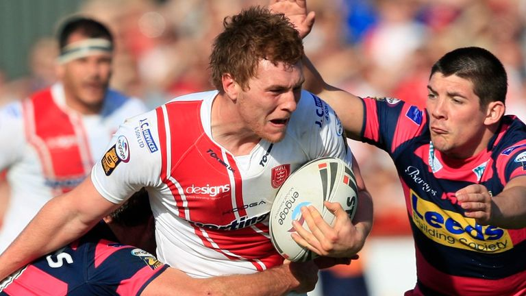 Scott Taylor on the charge for Hull KR during his time with the club