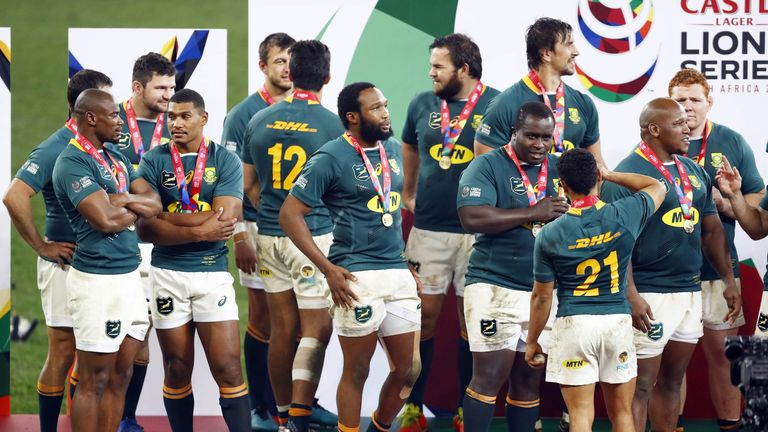 South Africa won the match and the series thanks to a late Morne Steyn penalty