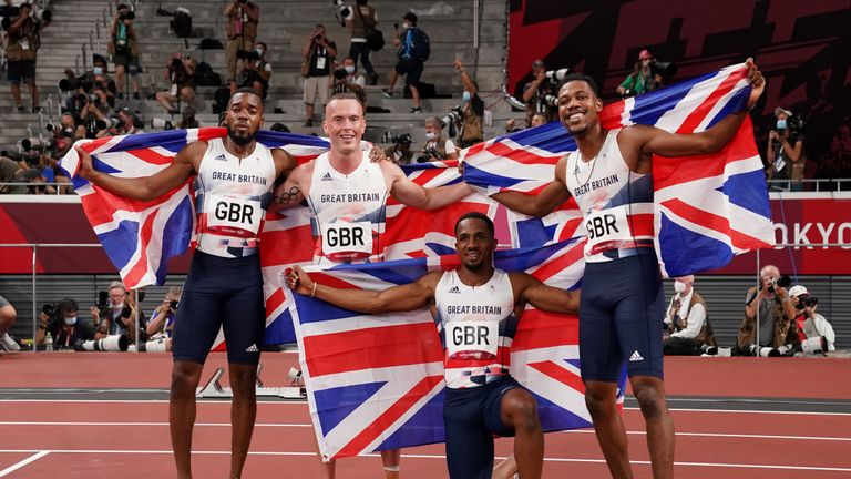 Team GB racked up 22 gold, 21 silver and 22 bronze medals, putting them fourth in the medal table