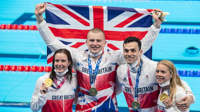 UK Sport chair Katherine Grainger says it was an 'extraordinary' achievement for Team GB to match their medal total from London 2012 at the Tokyo Games