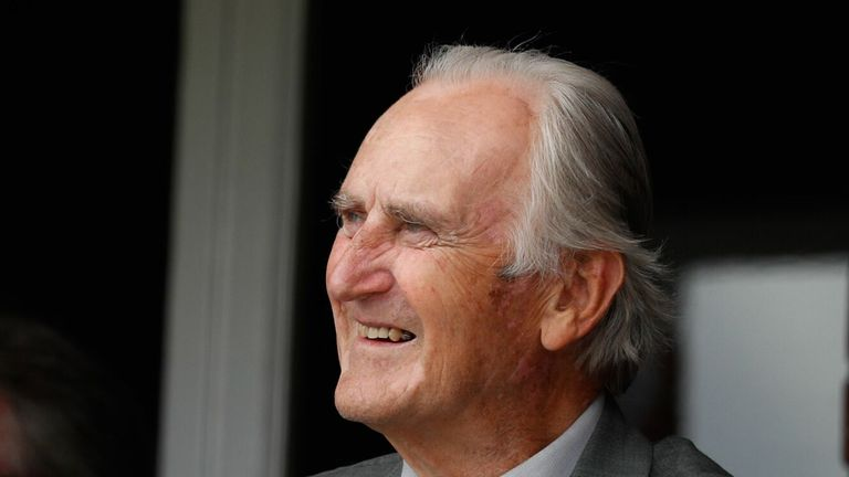 Ted Dexter was inducted into the ICC Hall of Fame in June
