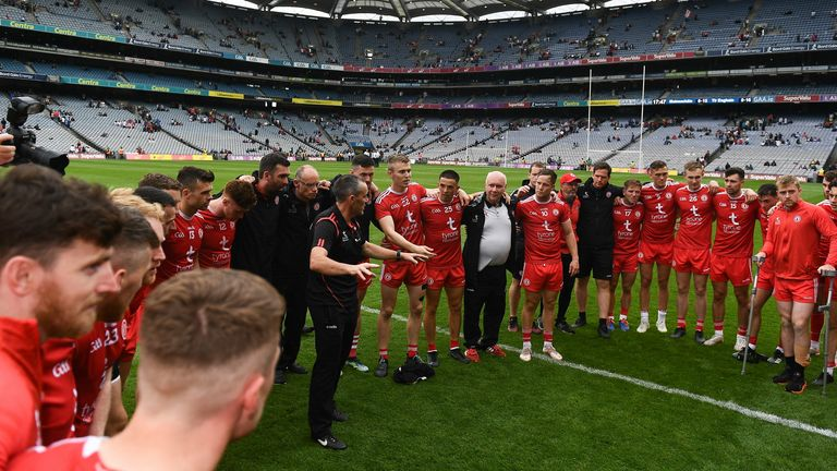 Tyrone's build-up to the All-Ireland semi-final has been significantly hindered