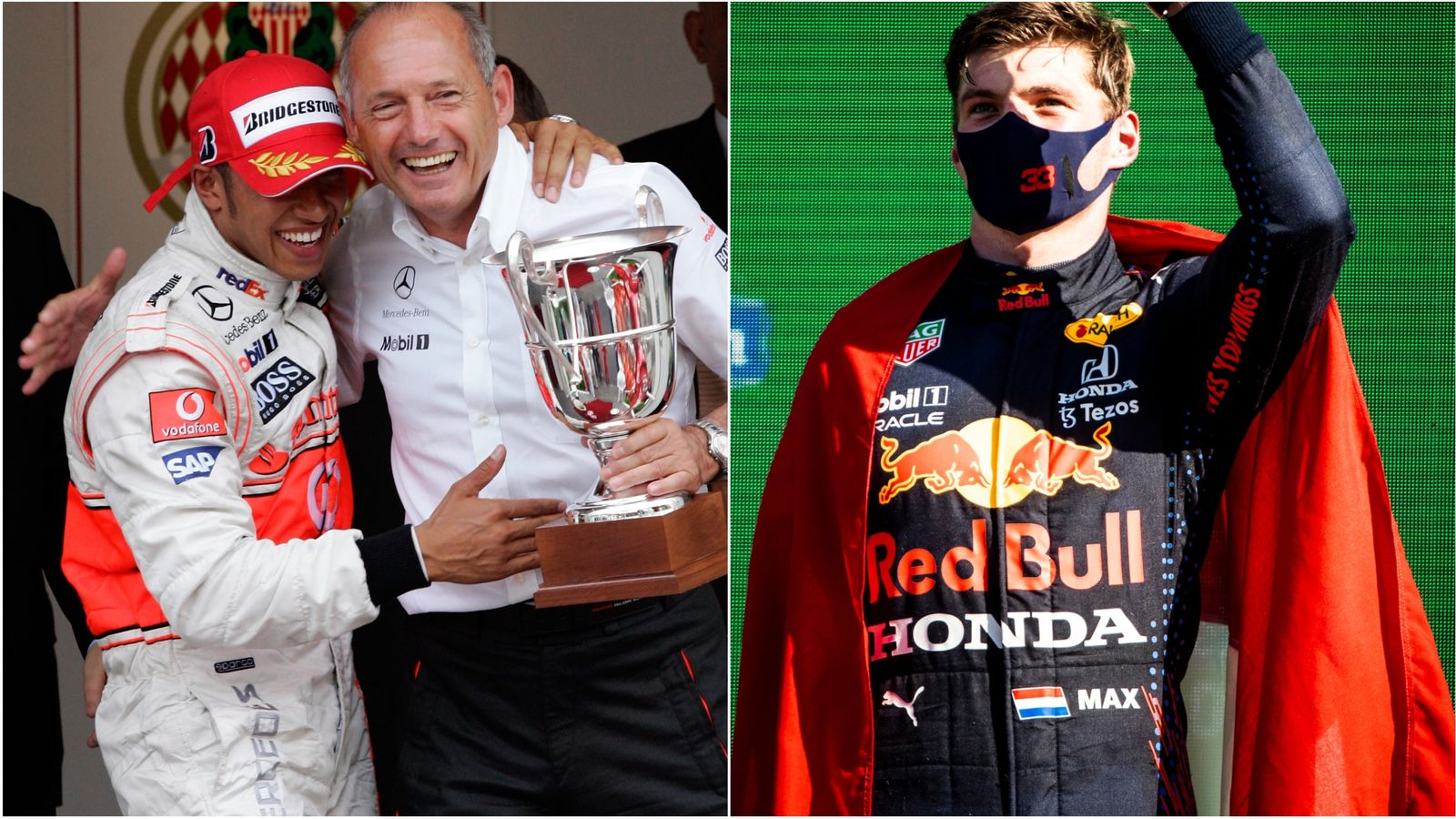 Ron Dennis tips Max to beat former protege Hamilton to title