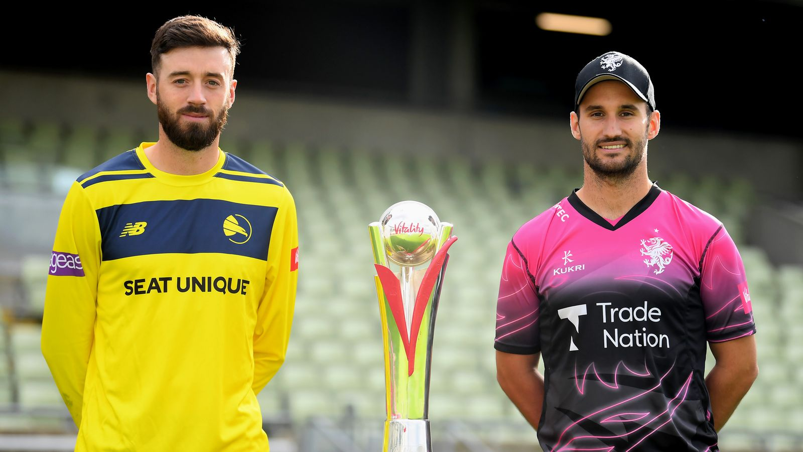 Vitality Blast Finals Day: James Vince, Lewis Gregory, Sam Billings, Luke Wright vie to lift T20 trophy