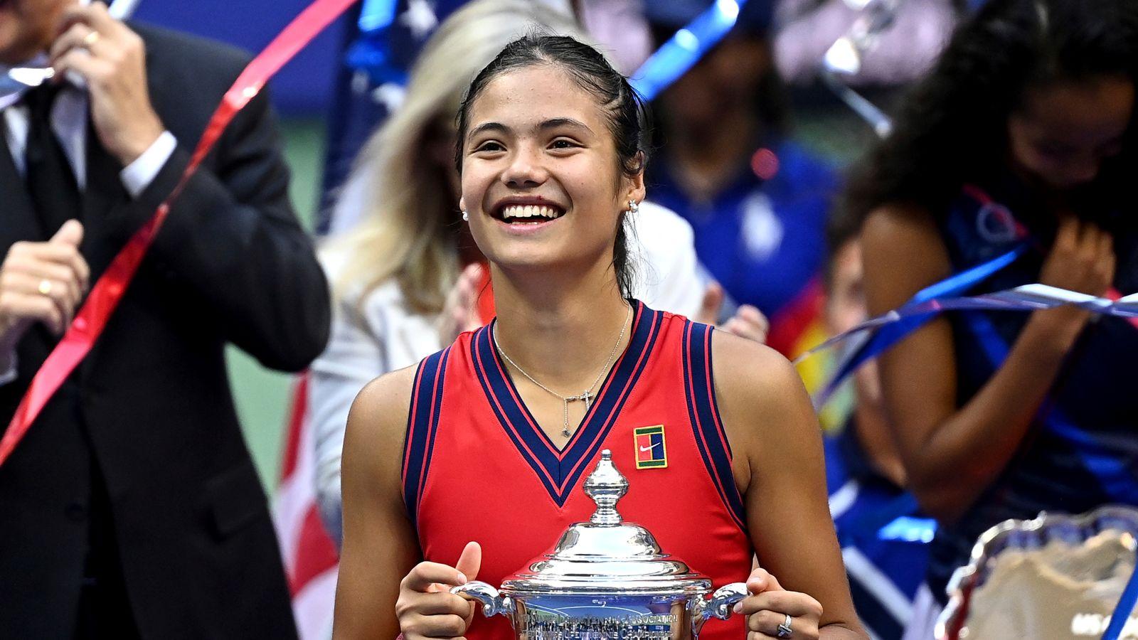 Emma Raducanu: Andy Murray says British tennis must build on teenager's US Open win