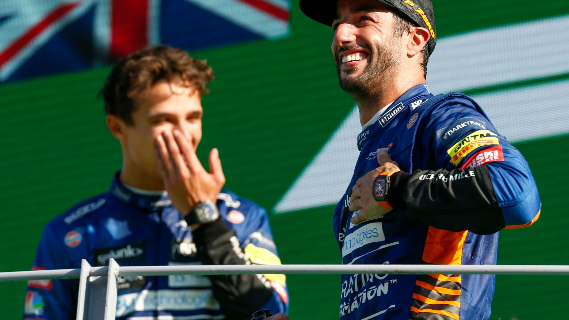 Ricciardo: I never lost faith   McLaren: This is why we signed him