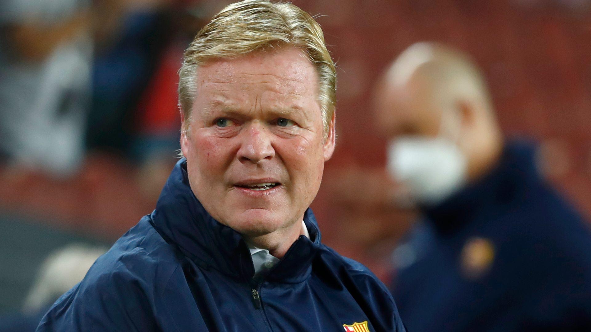 Koeman sacked by Barcelona