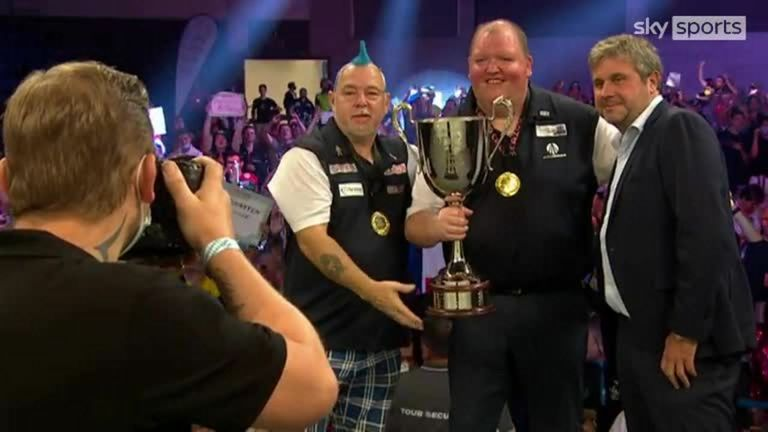 Wayne Mardle and Mark Webster were full of praise for Henderson and Wright after they beat Austria to win the World Cup