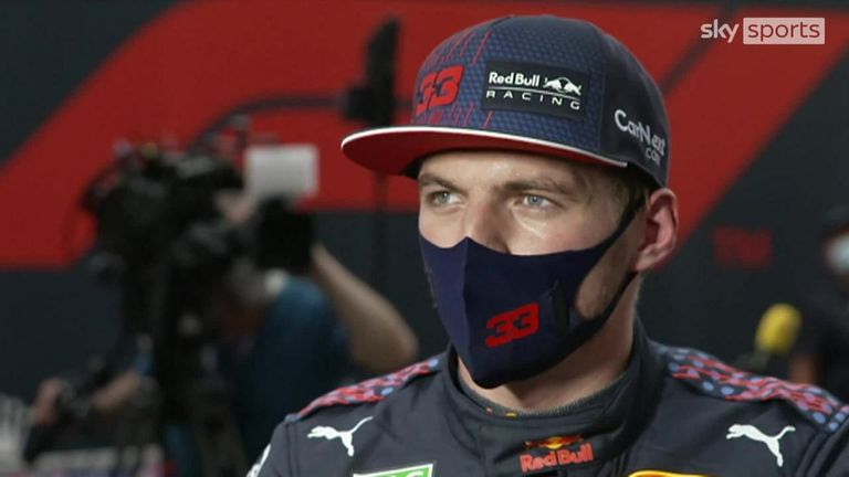 Red Bull's Max Verstappen reflects on his qualifying session after finishing third behind the Mercedes duo of Valtteri Bottas and Lewis Hamilton.