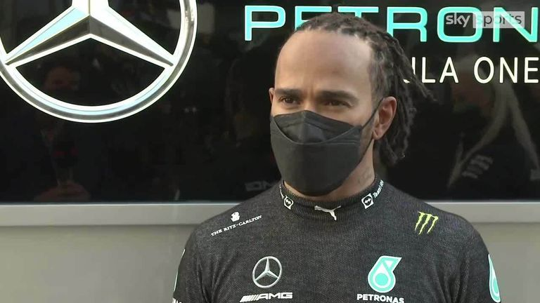 Lewis Hamilton reflects on his positive Friday Practice ahead of the Russian GP, with a wet qualifying potentially in store.