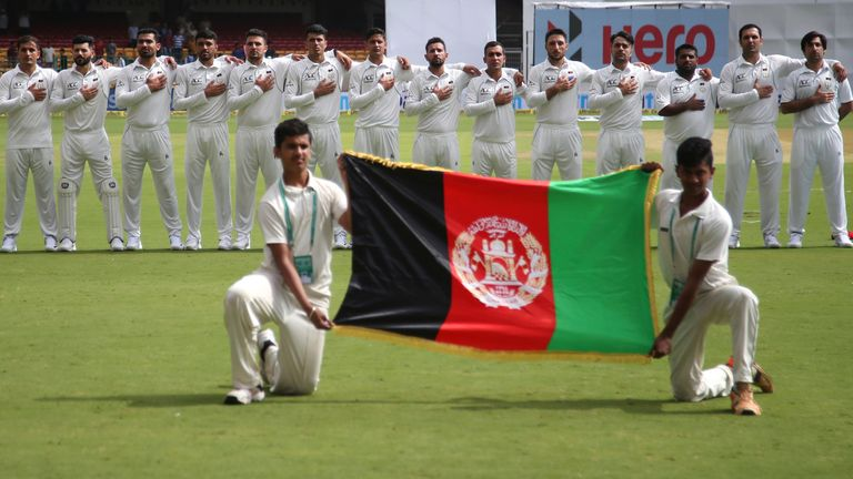The match against Australia will be the seventh Test for Afghanistan